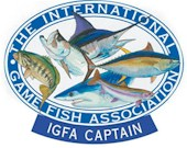 The captain is certified by IGFA